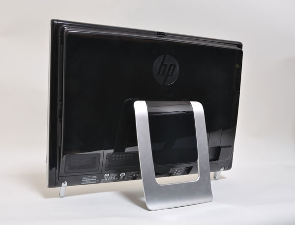 HP TouchSmart 600の背面